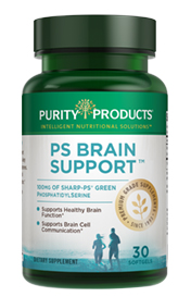 PS Brain Support - (30 Sharp-PS soft gels - 100 mg each)