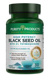 HIGH POTENCY BLACK SEED OIL -- 30 softgels