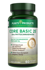 Core Basic Daily -- 25 (TWENTY-FIVE) MG -- PHYTOCANNABINOIDS