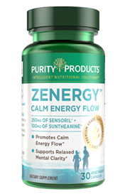 ZENERGY CAPS – Calm Energy & Mental Clarity -- Formula
