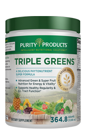 PURITY TRIPLE GREENS -- GREENS DRINK
